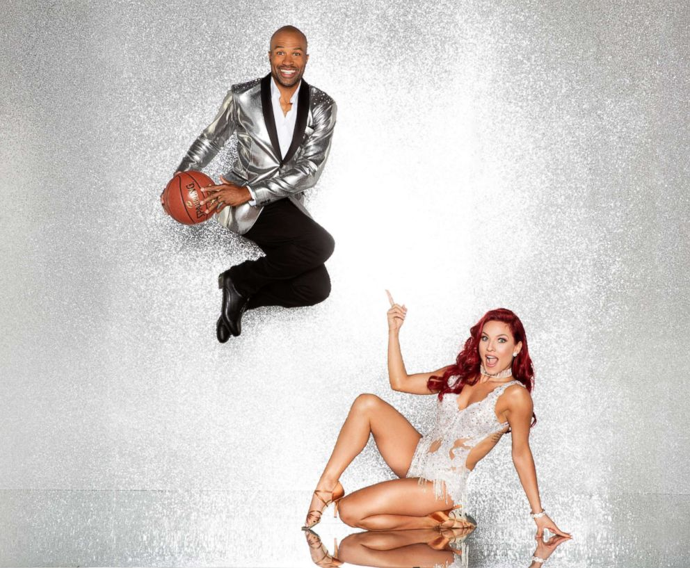 Derek Fisher & Sharna Burgess